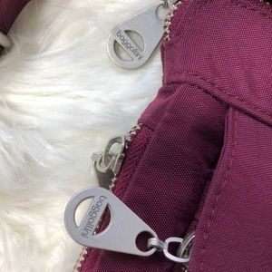 Baggallini Bags - Baggallini Plum Expandable Crossbody Bag